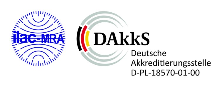 accredited test methods - DAkkS Symbol